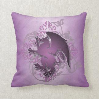 Hip Urban Fantasy Pink Griffin Pillow