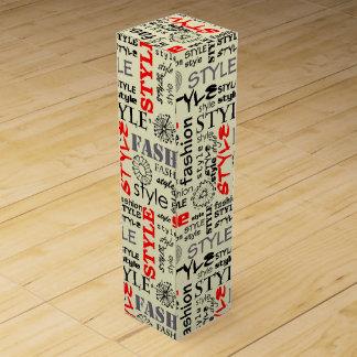 Hip Wine Bottle Box