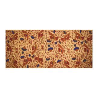 Hip wrapper Kain Panjang Pattern Canvas Print