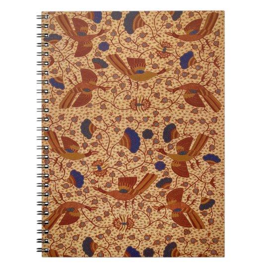 Hip wrapper Kain Panjang Pattern Notebook  b02a06b7b1