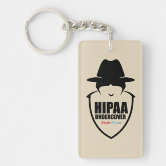 HIPAA Undercover Keychain
