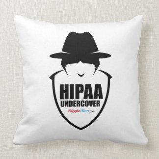 HIPAA Undercover Throw Pillow