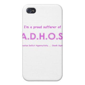 Hiperactividad del déficit de atención…. ardilla d iPhone 4 protector