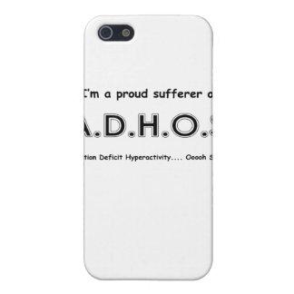 Hiperactividad del déficit de atención…. ardilla d iPhone 5 funda