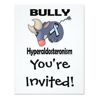 """Hiperaldosteronismo del matón invitación 4.25"""" x 5.5"""""""