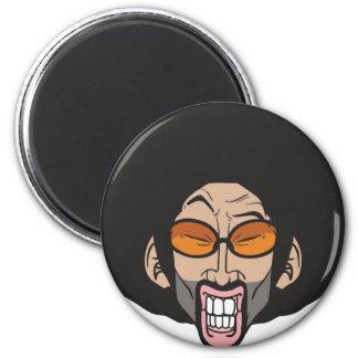 Hiphop Afro man Fridge Magnet