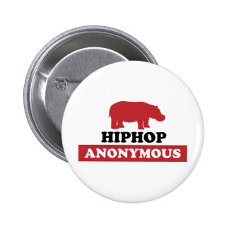 HipHop Anonymous 2 Inch Round Button