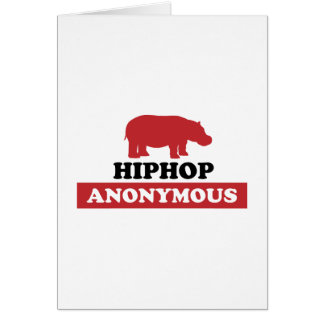 HipHop Anonymous Card
