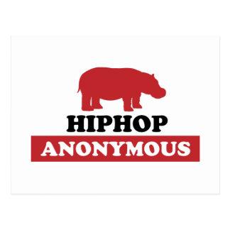 HipHop Anonymous Postcard