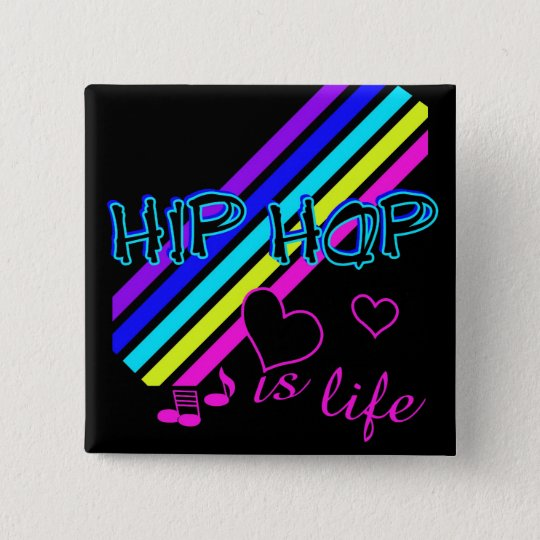HipHop button