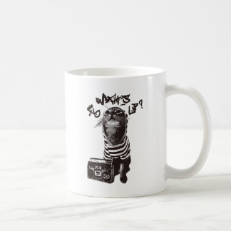 HIPHOP CAT COFFEE MUG