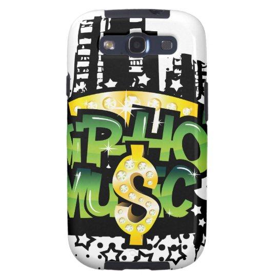 HipHop Music Samsung Galaxy SIII Case