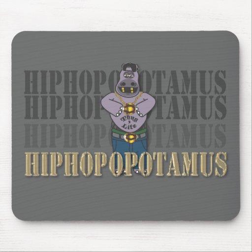 Hiphop-opotamus Tapetes De Ratones
