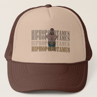 Hiphop-opotamus Trucker Hat