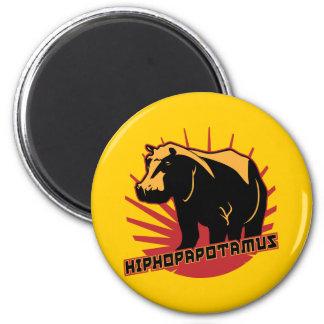hiphopapotamus rhymenocerous magnet