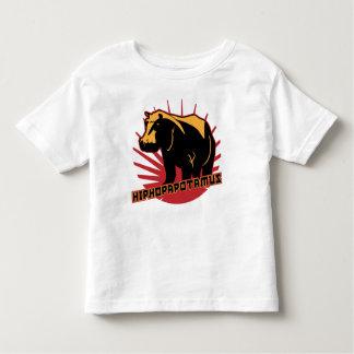 hiphopapotamus rhymenocerous toddler t-shirt