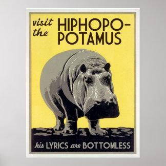 hiphopopotamus hiphopapotamus rhymenocerous poster