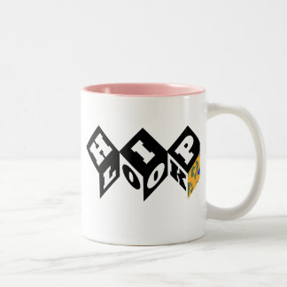 HipLook Pink inside Two-Tone Coffee Mug
