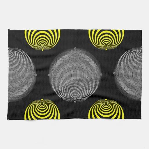 Hipnosis oscura toalla de mano