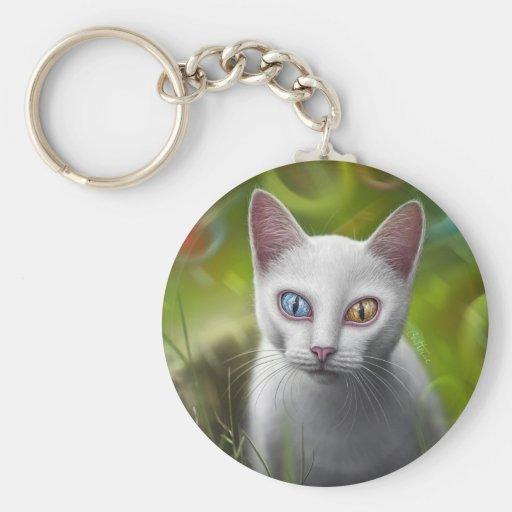 Hipnosis - Van Cat Llavero Redondo Tipo Pin