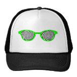 Hipnotice el borde verde de las gafas de sol el MU Gorra