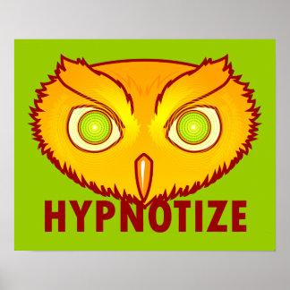 Hipnotice el poster del búho