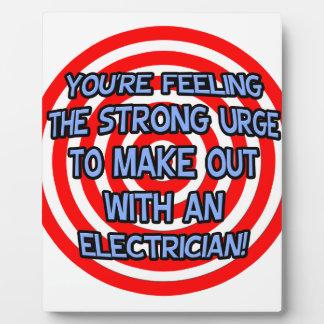 Hipnotice Electricista divertido Placas Con Fotos