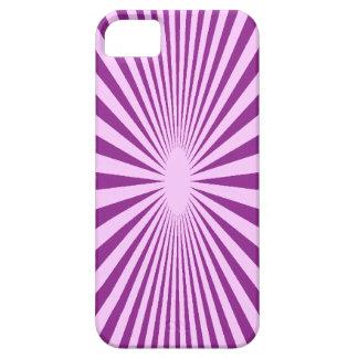 Hipnotice la cubierta púrpura del smartphone iPhone 5 carcasa