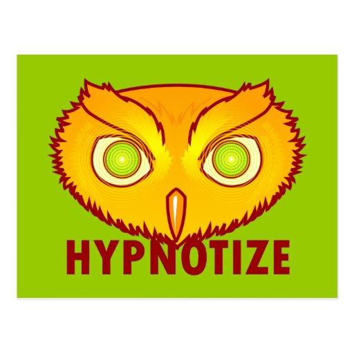 Hipnotice la postal del búho