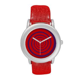 hipnotice las horas espirales reloj de mano