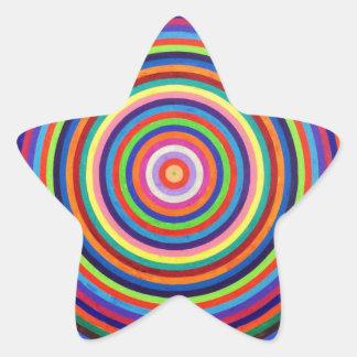 Hipnótico Pegatina En Forma De Estrella