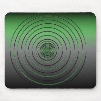 Hipnotizar verde tapetes de ratones