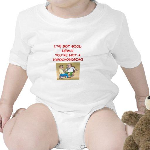 hipocondría traje de bebé
