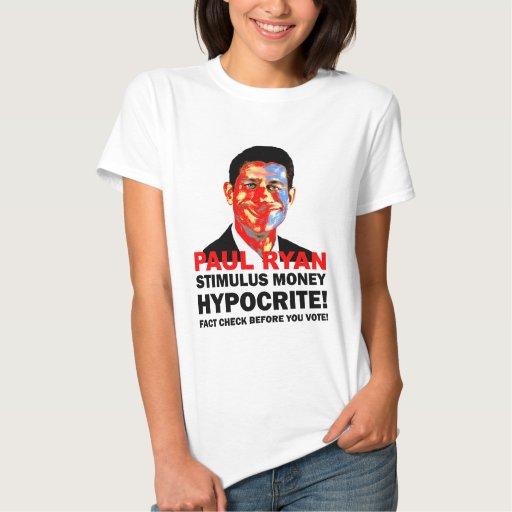hipócrita Paul Ryan Tshirts