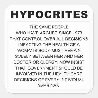 Hipócritas Etiquetas