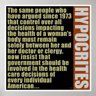 Hipócritas Posters