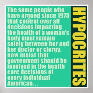 Hipócritas Poster