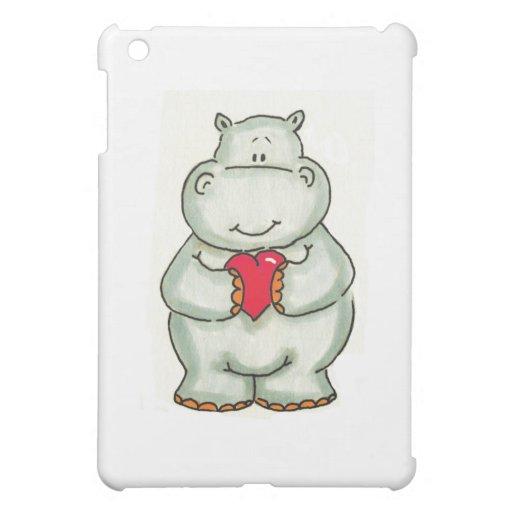 Hipopótamo con el corazón