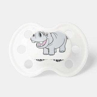 Hipopótamo de Hangry Chupete