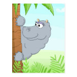 Hipopótamo de ocultación postal
