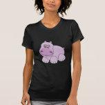 Hipopótamo del bebé camiseta