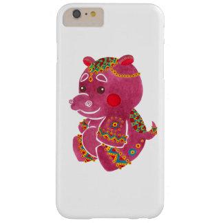 Hipopótamo del bebé funda para iPhone 6 plus barely there