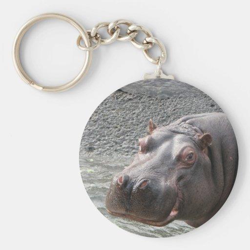 ¡Hipopótamo descarado! Llaveros Personalizados