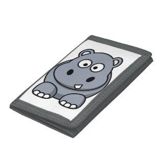 Hipopótamo divertido lindo