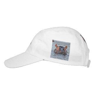 hipopótamo gorra de alto rendimiento