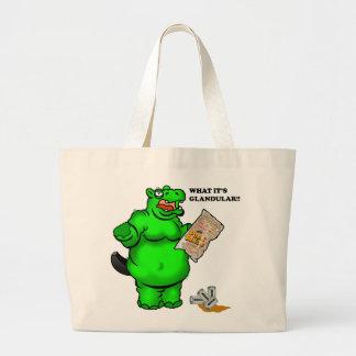 hipopótamo hambriento bolsas