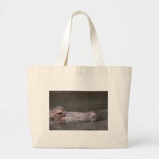 Hipopótamo hambriento bolsa