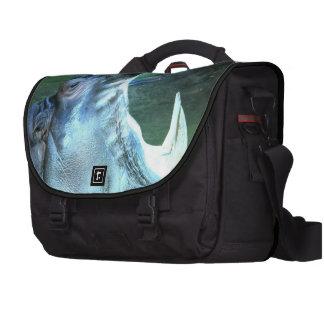 Hipopótamo hambriento bolsas de portatil