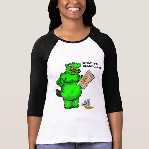hipopótamo hambriento camisetas