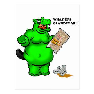 hipopótamo hambriento postales